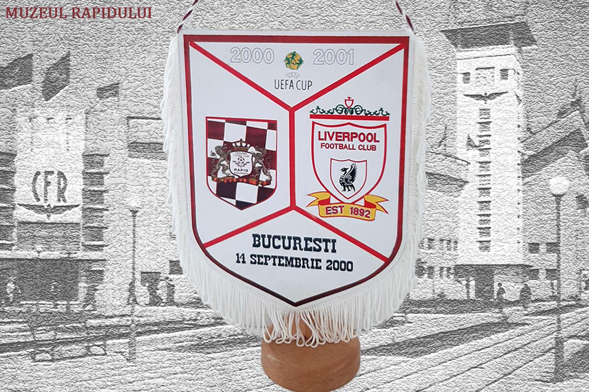 Fanion de la Rapid-FC Liverpool